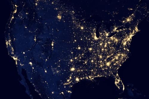 NASA-NOAA satellite reveals new views of earth at night