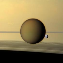 NASA research estimates how long Titan's chemical factory has been in business