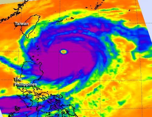 NASA sees a wide-eyed Super Typhoon Jelawat