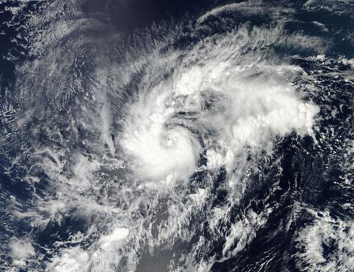 NASA sees brief life of Tropical Storm Olivia