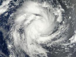NASA sees Giovanna reach cyclone strength, threaten Madagascar