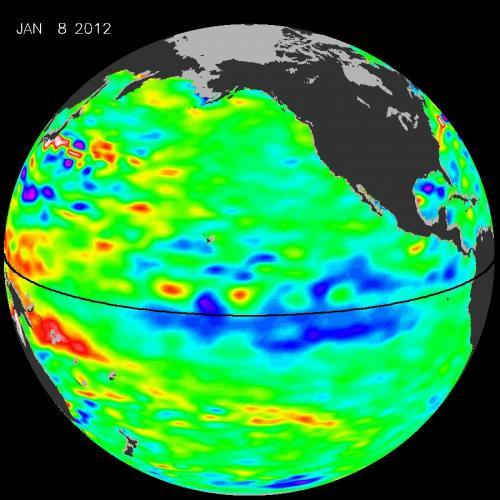 NASA sees repeating La Niña hitting its peak