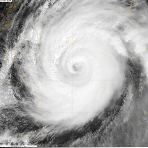 NASA sees super Typhoon Jelawat Affecting Japan