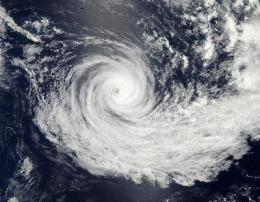 NASA sees wide-eyed cyclone Jasmine