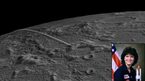NASA's GRAIL lunar impact site named for astronaut Sally Ride