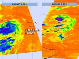 NASA watches Tropical Storm Florence develop and weaken