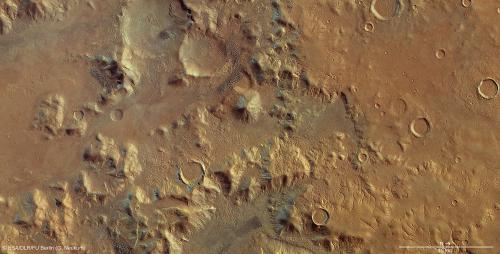 Nereidum Montes helps unlock Mars' glacial past