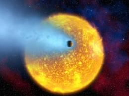 Newfound exoplanet may turn to dust