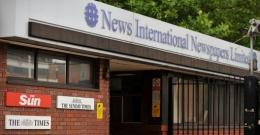 News International's headquarters in east London