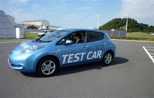 Nissan shows safety features, electronic steering