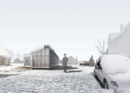 NJIT architect designs award-winning house that looks like an igloo