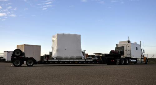 NuSTAR spacecraft arrives in California