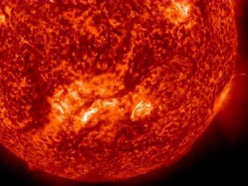 One half million mile solar filament
