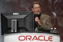 Oracle CEO Larry Ellison, pictured in San Francisco, in 2011