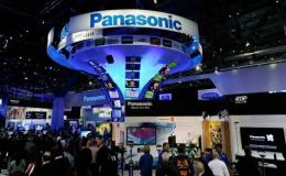 Panasonic booth at the 2012 International Consumer Electronics Show