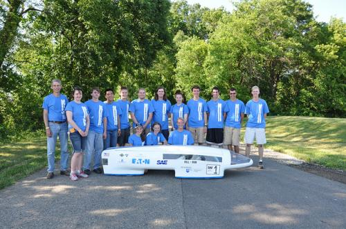 Penn State Erie team wins international 'supermileage' competition