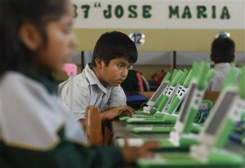 Peru's ambitious laptop program gets mixed grades
