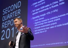 Profits plunge in Q2 for Sweden's Ericsson
