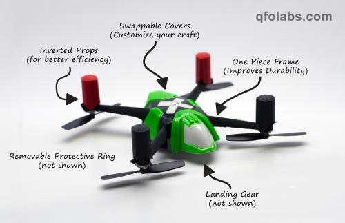QFO Labs wants to send palm-sized copters out to play