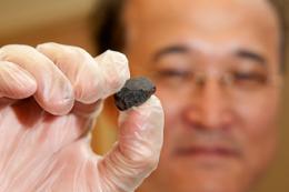 Rare meteorite fragment donated to UC Davis geologist