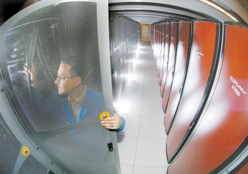 Sandia Red Storm supercomputer exits world stage
