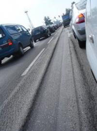 Researcher using nanoclays to build better asphalt