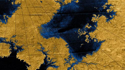 River networks on Titan point to a puzzling geologic history