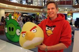 Rovio Asia senior vice president Henri Holm with an