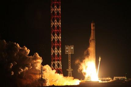 Russia says its spacecraft may crash into Atlantic (AP)