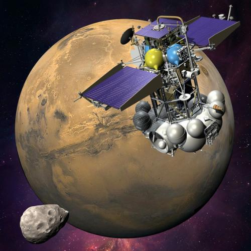 Russia to try again for phobos-grunt?