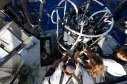 Sailing in a sea of microbes