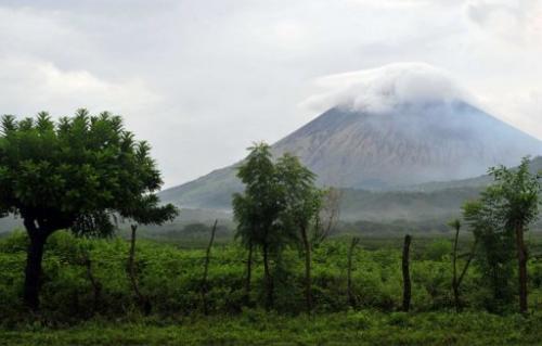 San Cristobal is among seven active volcanoes in Nicaragua