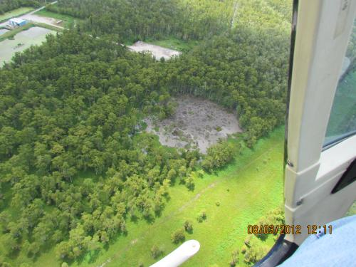 Sandia experts help when sinkhole opens up in Louisiana