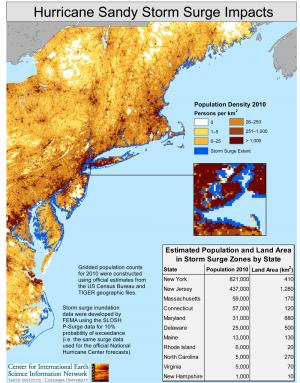 Sandy's surge affected more than 1.4 million in 11 states