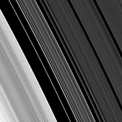 Saturn's B-ring: Taking a closer look