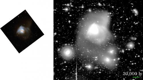 Science Results - Multiple Mergers Generate Ultraluminous Infrared Galaxy