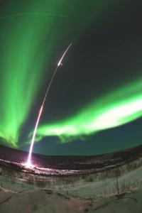 Scientists launch rocket into aurora