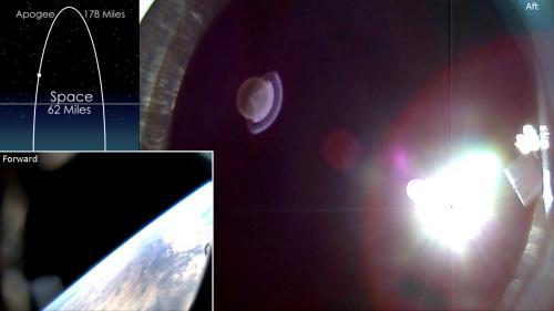 SDO/EVE Calibration Sounding Rocket Launch