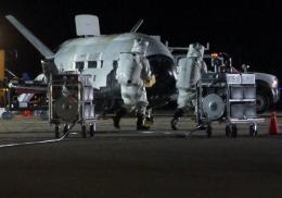 Secret X-37B mini space shuttle could land today