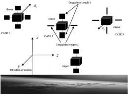 Seeking cheaper, nimbler satellites and safer disposal of space debris