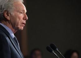 Senator Joseph Lieberman warned about a
