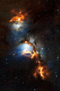Sifting through dust near Orion's Belt