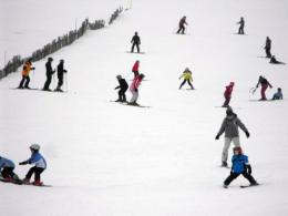 Simulated skiers reveal mountain traffic jams
