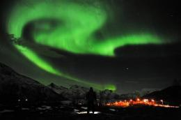 Solar storm sparks dazzling northern lights (AP)