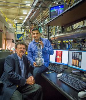 Space-age ceramics get their toughest test