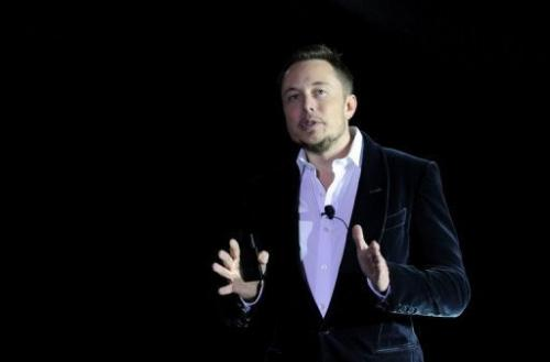 SpaceX owner and Paypal co-founder Elon Musk in February 2012