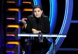 Star Wars actress Carrie Fisher voices one of the characters in 'Dishonored'