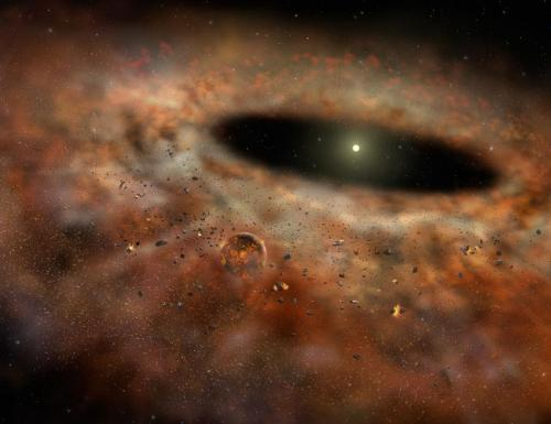 Study in Nature sheds new light on planet formation