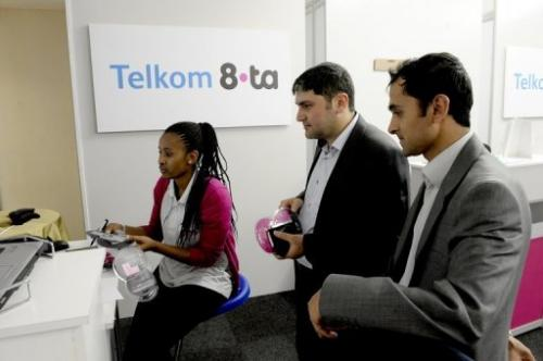 Subscribers to Telkom's 8ta mobile phone service can access Gmail and Google+ without paying for data charges