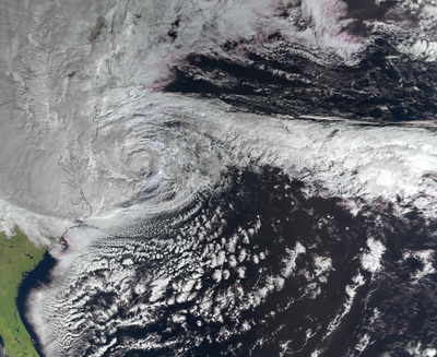 Super storm Sandy tracked by European Space Agency water mission